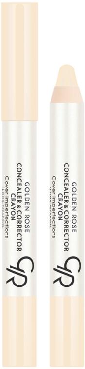 Anticearcăn creion pentru față - Golden Rose Concealer & Corrector Crayon
