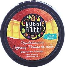 """Parfumuri și produse cosmetice Peeling de zahăr pentru corp """"Piersic și Mango"""" - Farmona Tutti Frutti Sugar Scrub"""