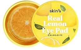 """Parfumuri și produse cosmetice Tampoane pentru ochi și față """"Lemon"""" - Skin79 Brightening Real Lemon Eye Pad"""