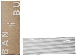 Parfumuri și produse cosmetice Мыльница большая, серая - Banbu Soap Holder Big