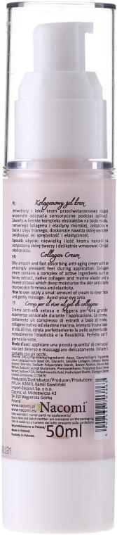 Крем для лица - Nacomi Collagen Cream Anti-aging — фото N2