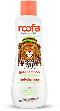 Parfumuri și produse cosmetice Șampon-gel de duș cu aloe vera și pantenol - Roofa Cool Kids Gel Shampoo