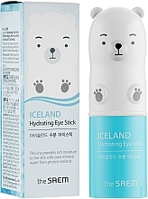 Parfumuri și produse cosmetice Stick hidratant cu apă glacială pentru zona ochilor - The Saem Iceland Hydrating Eye Stick