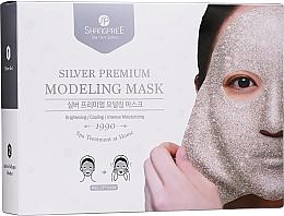 Parfumuri și produse cosmetice Mască-peliculă pentru față - Shangpree Silver Premium Modeling Mask (gel/5x50g + powder/5x4,5g)