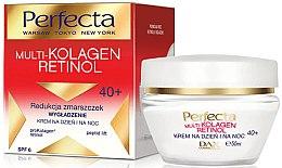 Parfumuri și produse cosmetice Cremă de față - Dax Cosmetics Perfecta Multi-Collagen Retinol Face Cream 40+