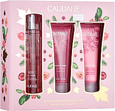Parfumuri și produse cosmetice Caudalie Rose De Vigne - Set (edt/50ml + sh/gel/50ml + lot/50ml)