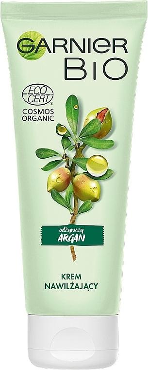 Питательный увлажняющий крем для лица - Garnier Bio Argan — фото N3