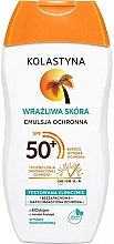 Parfumuri și produse cosmetice Emulsie de protecție pentru ten sensibil - Kolastyna Sensitive Skin SPF50