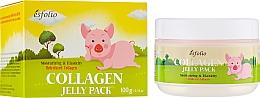 Parfumuri și produse cosmetice Mască de colagen cu efect de lifting - Esfolio Collagen Shape Memory Jelly Pack