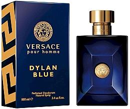 Parfumuri și produse cosmetice Versace Pour Homme Dylan Blue - Deodorant spray