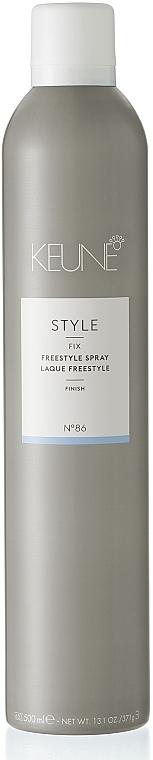Лак средней фиксации для волос №86 - Keune Style Freestyle Spray — фото N1