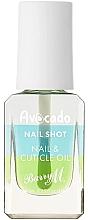 Parfumuri și produse cosmetice Ulei de avocado pentru cuticule - Barry M Nail Shot Avocado