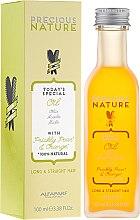 Parfumuri și produse cosmetice Ulei pentru păr drept și lung - Alfaparf Precious Nature Oil For Long & Straight
