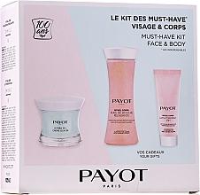 Parfumuri și produse cosmetice Set - Payot Hydra 24+ Must-Have Kit Face & Body (cr/50ml + sh/oil/125ml + b/lot/25ml)