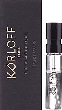 Parfumuri și produse cosmetice Korloff Paris Cuir Mythique - Apă de parfum (tester)