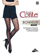 """Parfumuri și produse cosmetice Colanți """"Fantasy Bonheur"""" 20 Den, grafit - Conte"""