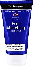 Parfumuri și produse cosmetice Cremă de mâini - Neutrogena Fast Absorbing Hand Cream