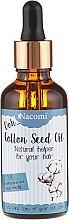 Parfumuri și produse cosmetice Ulei din semințe de bumbac pentru păr - Nacomi Cotton Seed Oil