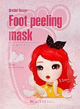 Parfumuri și produse cosmetice Mască de țesut pentru tălpi - The Orchid Skin Orchid Flower Foot Peeling Mask
