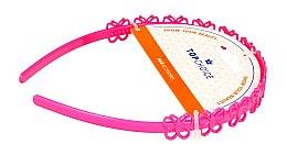 Parfumuri și produse cosmetice Cordeluță de păr, 27918, roz - Top Choice