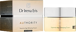 Parfumuri și produse cosmetice Cremă de față - Dr Irena Eris Authority Supreme Age Delaying Cream
