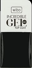 Parfumuri și produse cosmetice Fixator pentru unghii - Wibo Incredible Gel Top Coat