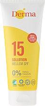Parfumuri și produse cosmetice Loțiune de corp pentru protecție solară - Derma Sun Lotion SPF 15