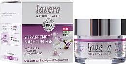 Parfumuri și produse cosmetice Cremă de noapte pentru față - Lavera Straffende Nachtpflege Green Lift Complex