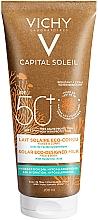 Parfumuri și produse cosmetice Lapte hidratant de protecție solară pentru față și corp - Vichy Capital Soleil Solar Eco-Designed Milk SPF 50+