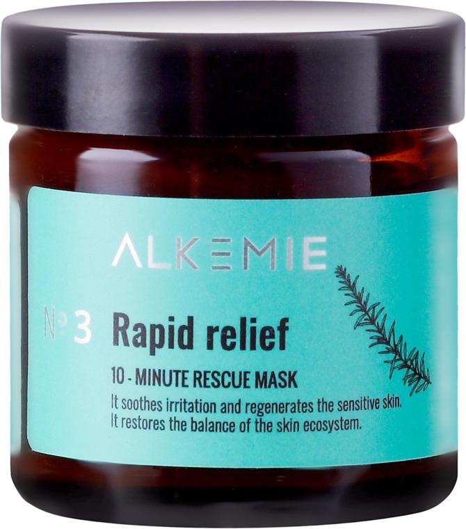 Masca regenerantă de față - Alkemie Rapid Relief Rescue Mask — Imagine N2