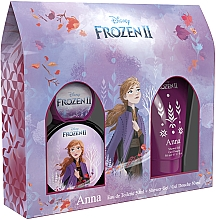 Parfumuri și produse cosmetice Disney Frozen II Anna - Set (edt/50ml + sh/gel/50ml)