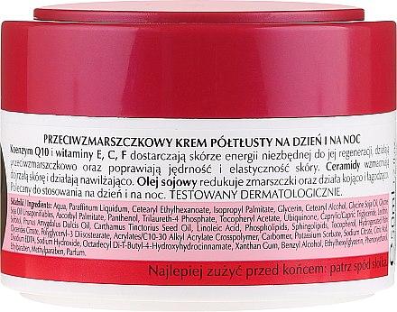 Полужирный крем для лица, антивозрастной - Celia Q10 Face Cream 60+ — фото N2