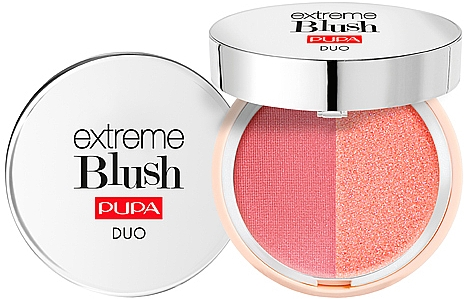 Fard de obraz dublu compact - Pupa Extreme Blush Duo