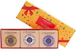 Parfumuri și produse cosmetice Set - L'occitane Trio De Savons (soap/3x100g)