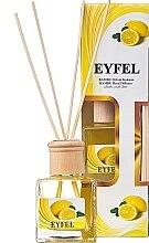 "Духи, Парфюмерия, косметика Аромадиффузор ""Лимон"" - Eyfel Perfume Reed Diffuser Lemon"