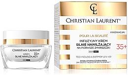 Parfumuri și produse cosmetice Увлажняющий инфузионный крем от первых морщин - Christian Laurent Infusion Intensely Moisturizing Cream Against First Wrinkles 35+