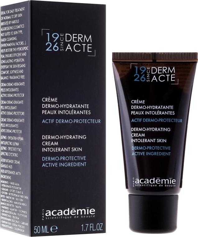Cremă hidratantă potrivită pentru pielea normală și uscată - Academie Derm Acte Dermo-hydratante Cream Intolerant Skin — Imagine N1