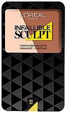 Parfumuri și produse cosmetice Paleta de contur - L'Oreal Paris Infallible Sculpt Contouring Palette