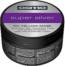 Parfumuri și produse cosmetice Mască super argintie fără nuanțe de galben - Osmo Super Silver No Yellow Mask