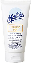 Parfumuri și produse cosmetice Loțiune hidratantă pentru față, înainte și după bronzare - Malibu Miracle Tan Moisturising Before and After Sun Lotion