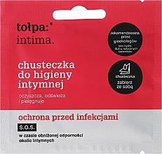 Parfumuri și produse cosmetice Șervețele antibacteriene pentru igiena intimă 1 buc - Tolpa Intima