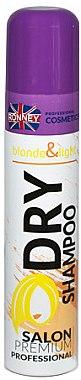 Șampon uscat pentru păr blond - Ronney Professional Dry Shampoo Blonde & Light