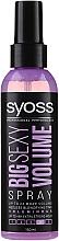 Parfumuri și produse cosmetice Spray pentru aranjarea părului - Syoss Big Sexy Volume Blow Dry Spray