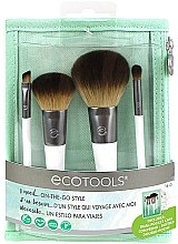 Set pensule de machiaj, 4 bucăți - EcoTools On-The Go Style — Imagine N2