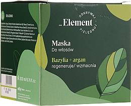 Parfumuri și produse cosmetice Mască de păr - Vis Plantis Basil Element Strengthening Anti-Hair Loss Mask