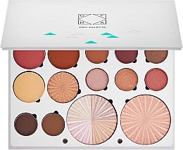 Parfumuri și produse cosmetice Paletă de machiaj - Ofra Pro Palette Soul