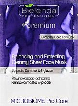 Parfumuri și produse cosmetice Mască protectoare pentru față - Bielenda Professional Balancing and Protectiveing Creamy Mask