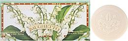 """Parfumuri și produse cosmetice Set săpunuri de toaletă """"Lăcrămioară"""" - Saponificio Artigianale Fiorentino Lily Of The Valley (Soap/6x50g)"""