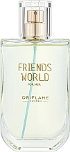 Parfumuri și produse cosmetice Oriflame Friends World For Her - Туалетная вода