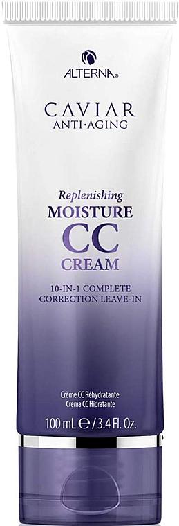 CC cremă fără clătire cu protecție termo pentru păr - Alterna Caviar Anti Aging Replenishing Moisture CC Cream — Imagine N1